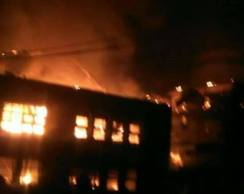 Petrol station in Onitsha on fire, The Republican news