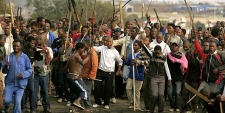 SA xenophobic attackers and protesters