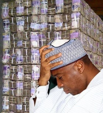 Image result for saraki and money in warehouse
