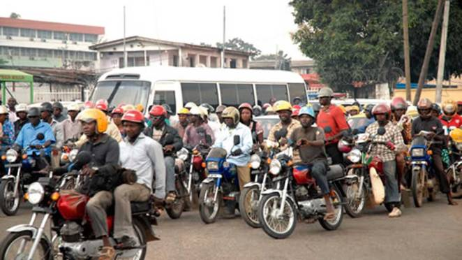 Image result for Police collecting bribe from okada riders