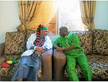Ikedi Ohakim pays visit to Nnamdi Kanu, The Republican News