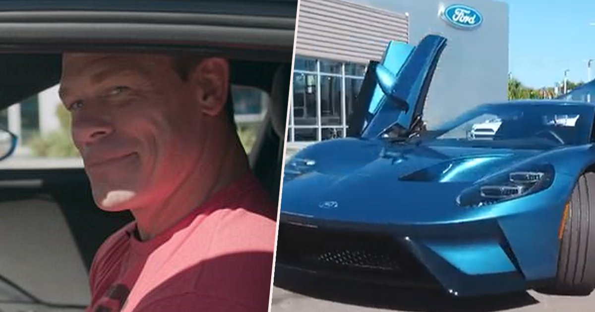 Ford Sues John Cena For Selling High End Car Within A Month Of Purchase Rn The Republican News
