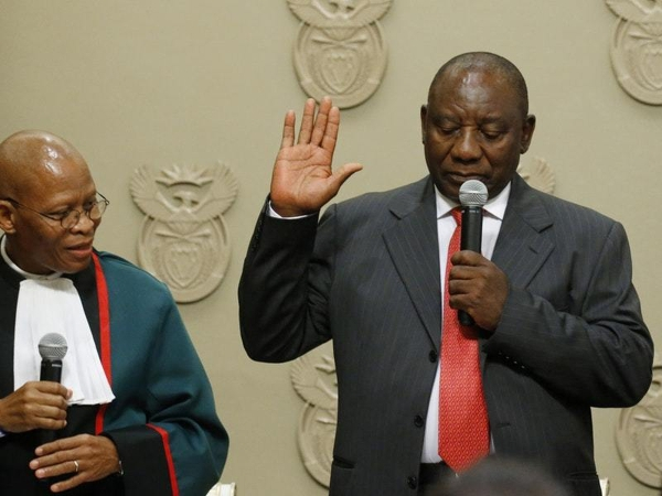 Ramaphosa-sworn-in