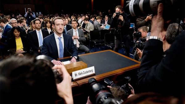 Facebook Privacy Scandal Congress, Washington, USA - 10 Apr 2018
