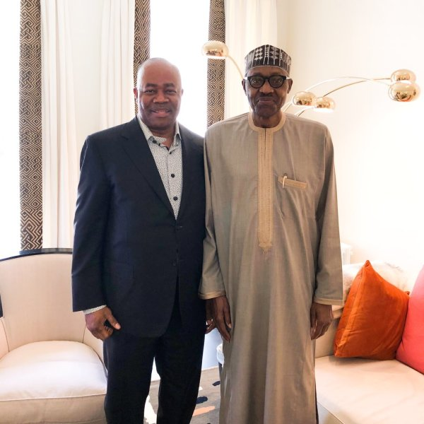 Godswill-Akpabio-and-Muhammadu-Buhari-in-London